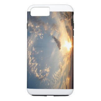 Funda Para iPhone 8 Plus/7 Plus Puesta del sol del cielo azul