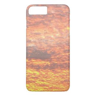Funda Para iPhone 8 Plus/7 Plus Reflejo de la puesta del sol en el caso del