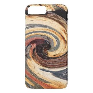 Funda Para iPhone 8 Plus/7 Plus Remolino - colores del moho/del Rost-Arte
