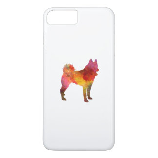 Funda Para iPhone 8 Plus/7 Plus Russian European Laika in watercolor