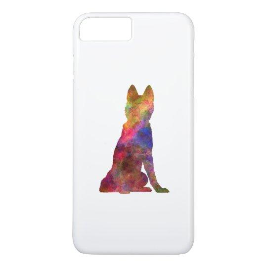 Funda Para iPhone 8 Plus/7 Plus Siberian Husky 02 in watercolor
