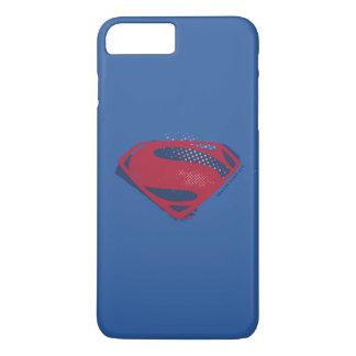 Funda Para iPhone 8 Plus/7 Plus Símbolo del superhombre del cepillo y del tono