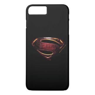 Funda Para iPhone 8 Plus/7 Plus Símbolo metálico del superhombre de la liga de