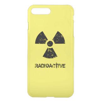 Funda Para iPhone 8 Plus/7 Plus Símbolo radiactivo amarillo