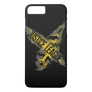 Funda Para iPhone 8 Plus/7 Plus Símbolos de la liga y del equipo de justicia de la