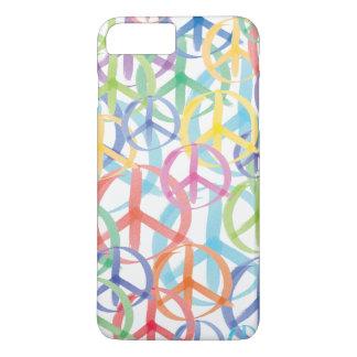 Funda Para iPhone 8 Plus/7 Plus Símbolos de paz coloridos