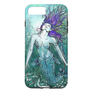 Funda Para iPhone 8 Plus/7 Plus Sirena feliz del chapoteo