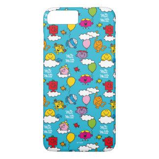 Funda Para iPhone 8 Plus/7 Plus Sr. Men y pequeños pájaros y globos de la Srta. el