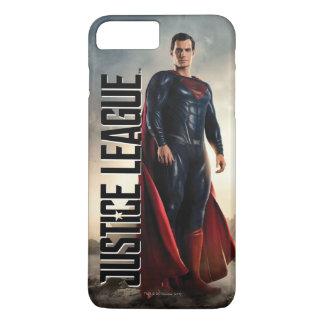 Funda Para iPhone 8 Plus/7 Plus Superhombre de la liga de justicia el | en campo