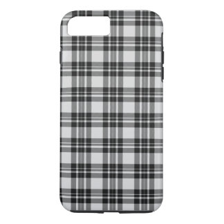 Funda Para iPhone 8 Plus/7 Plus Tartán Phonecase de Black&white