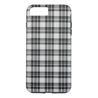 Funda Para iPhone 8 Plus/7 Plus Tartán Phonecase de Black&white
