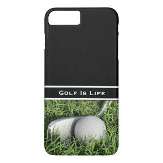 Funda Para iPhone 8 Plus/7 Plus Tema del golf del negocio