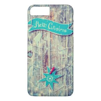 Funda Para iPhone 8 Plus/7 Plus Textura de madera de la estrella de la decoración