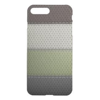 Funda Para iPhone 8 Plus/7 Plus texturas verdes negras marrones del material del
