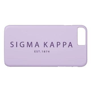 Funda Para iPhone 8 Plus/7 Plus Tipo moderno de Kappa de la sigma