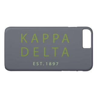 Funda Para iPhone 8 Plus/7 Plus Tipo moderno del delta de Kappa