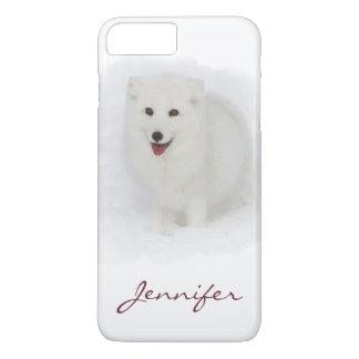 Funda Para iPhone 8 Plus/7 Plus Todo el Fox ártico blanco