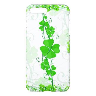Funda Para iPhone 8 Plus/7 Plus Trébol afortunado verde