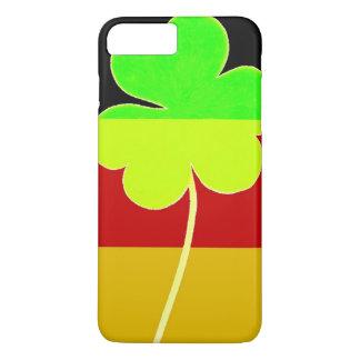 Funda Para iPhone 8 Plus/7 Plus Trébol alemán irlandés St Patrick del trébol de la