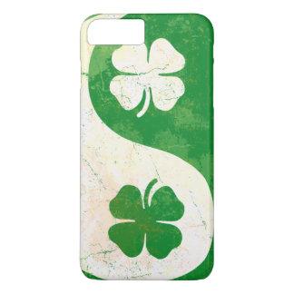 Funda Para iPhone 8 Plus/7 Plus Trébol irlandés Yin Yang