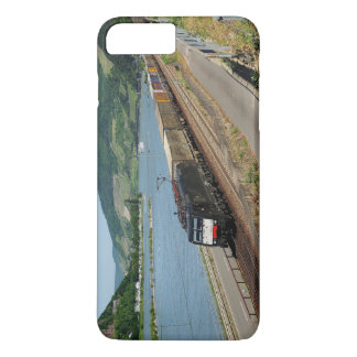 Funda Para iPhone 8 Plus/7 Plus Tren de carga en Assmanshausen a la rin