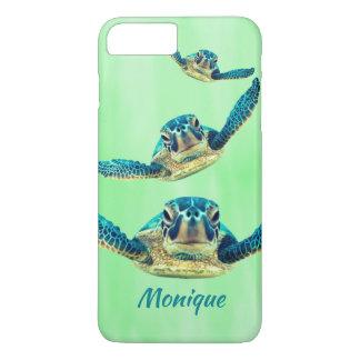 Funda Para iPhone 8 Plus/7 Plus Tres tortugas de mar que nadan
