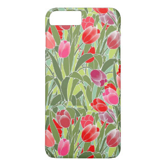 Funda Para iPhone 8 Plus/7 Plus Tulipanes