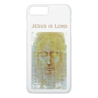 Funda Para iPhone 8 Plus/7 Plus una imagen de Cristo con una mirada resistida,