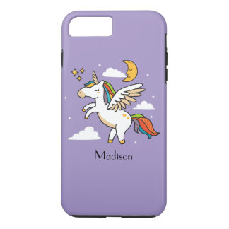Funda Para iPhone 8 Plus/7 Plus Unicornio del vuelo