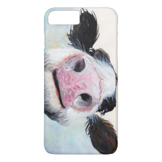 "Funda Para iPhone 8 Plus/7 Plus ¡Vaca Nosey ""ey! ¿Cómo es Goin""? 'Casos de Iphone"