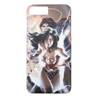 Funda Para iPhone 8 Plus/7 Plus Variante cómica de la cubierta #609 de la Mujer