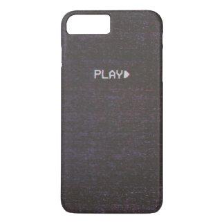 Funda Para iPhone 8 Plus/7 Plus VHS retro Apple/caja androide del teléfono