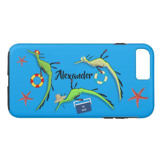 Funda Para iPhone 8 Plus/7 Plus Vida de la playa de los dragones del mar