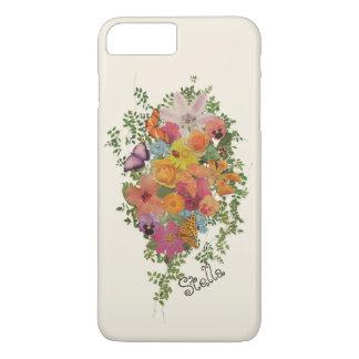 Funda Para iPhone 8 Plus/7 Plus Vida de las flores Stella personalizada diseño
