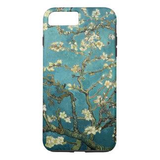 Funda Para iPhone 8 Plus/7 Plus Vintage floreciente del árbol de almendra de Van