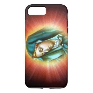 Funda Para iPhone 8 Plus/7 Plus Virgen María bendecido - brillo ligero sobre usted