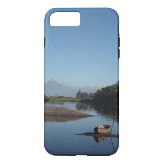 Funda Para iPhone 8 Plus/7 Plus Volcán de Guatemala y caja del teléfono de la