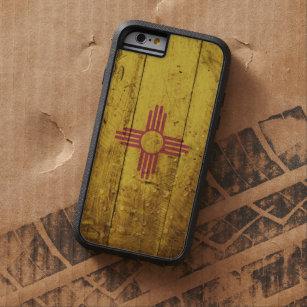 7bfe52a2aa0 Funda Tough Xtreme Para iPhone 6 Bandera del estado de New México en grano  de
