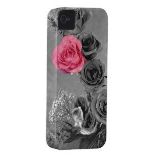 a4d78735029 Funda Para iPhone 4 De Case-Mate Color de rosa rosado elegante con el fondo