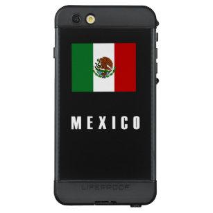 79d29d32fdf Funda NÜÜD De LifeProof Para iPhone 6s Plus Oscuridad simple de la bandera  de México