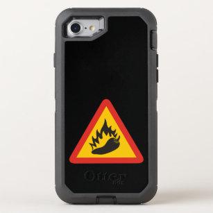 62dfc951bed Funda OtterBox Defender Para iPhone 8/7 Muestra del peligro del pimiento  picante