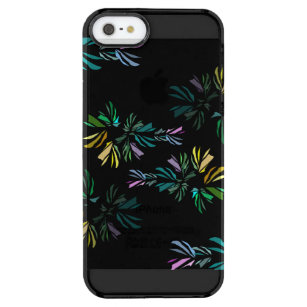 b99446e7d0f Funda Transparente Para iPhone SE/5/5s Impresión estilizada colorida  moderna de los