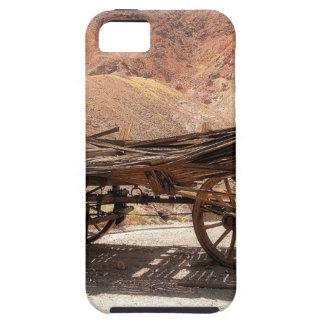 Funda Para iPhone SE/5/5s 2010-06-28 old_wagon del pueblo fantasma del
