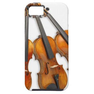 FUNDA PARA iPhone SE/5/5s 3 VIOLINES MUSICALES