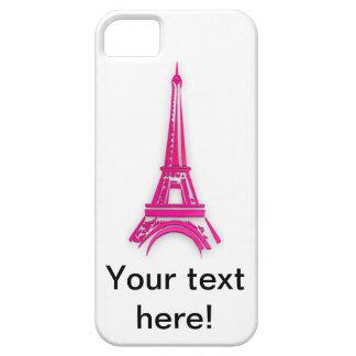 Funda Para iPhone SE/5/5s 3d torre Eiffel, clipart de Francia