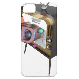 FUNDA PARA iPhone SE/5/5s 3D TV