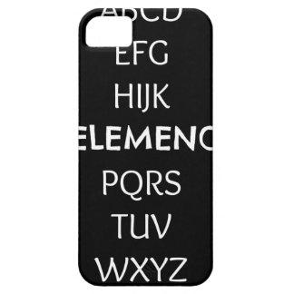 FUNDA PARA iPhone SE/5/5s ABC