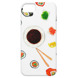 Funda Para iPhone SE/5/5s Acuarela determinada del sushi