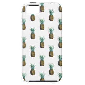Funda Para iPhone SE/5/5s Acuarela tropical de la piña