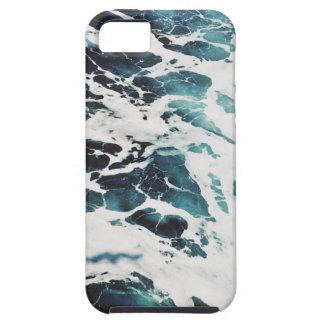 Funda Para iPhone SE/5/5s agua azul de la naturaleza del mar de las olas
